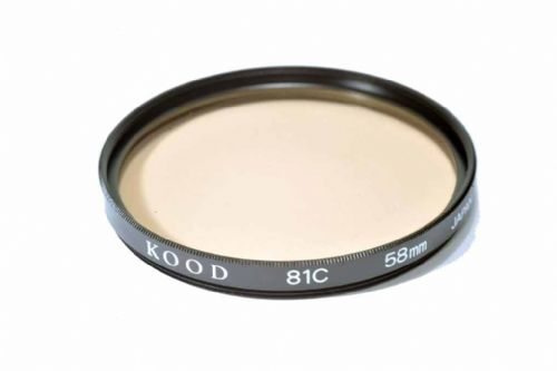 High Quality Optical Glass 81C Filter Made in Japan 58mm Kood